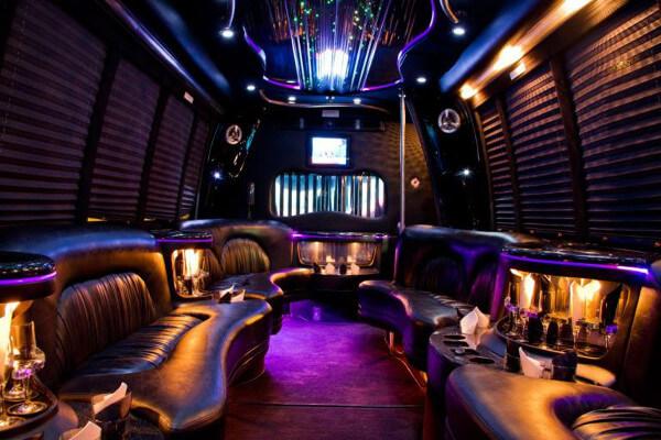 15 Person Party Bus Rental San Francisco