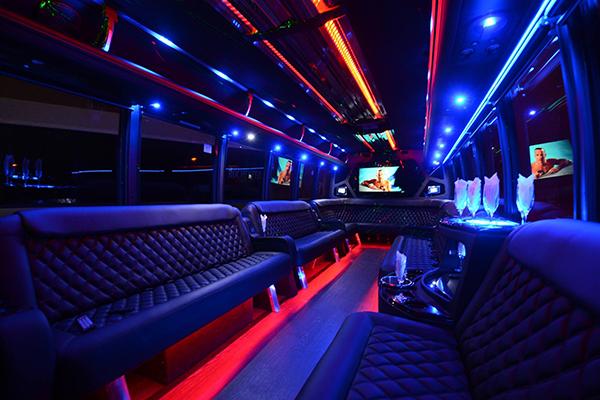 40 Person Party Bus Rental San Francisco